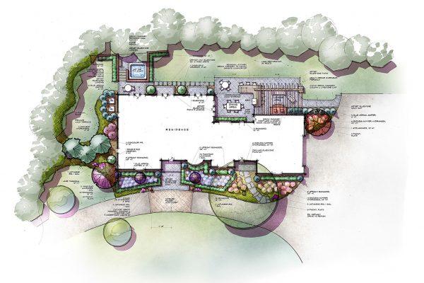 Landscape Design - Drawing